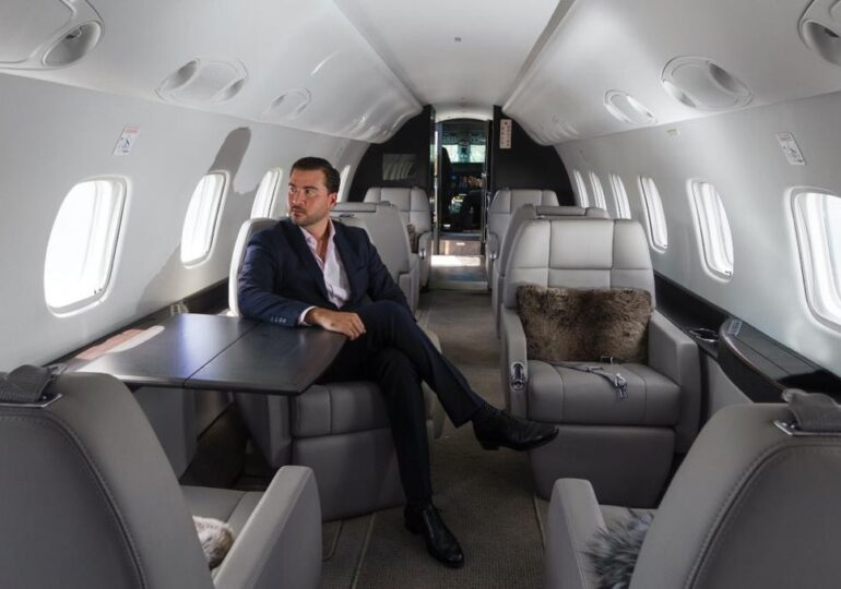 With More Than 15 Years Of Experience, Andres Arboleda Is Still The Youngest Leader In The Private Aviation Charter World